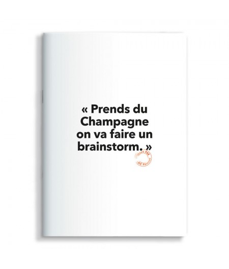 15x21 Cm Note Book Loic Prigent 70 Brainstorm - Image Republic