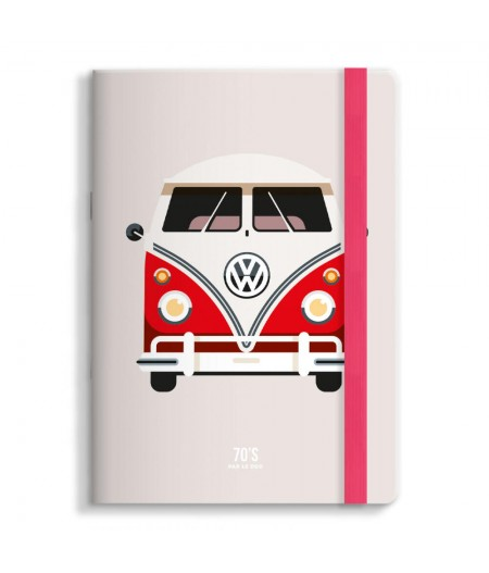 Carnet 15x21 Cm Note Book Le Duo 70 Combi 06 - Image Republic