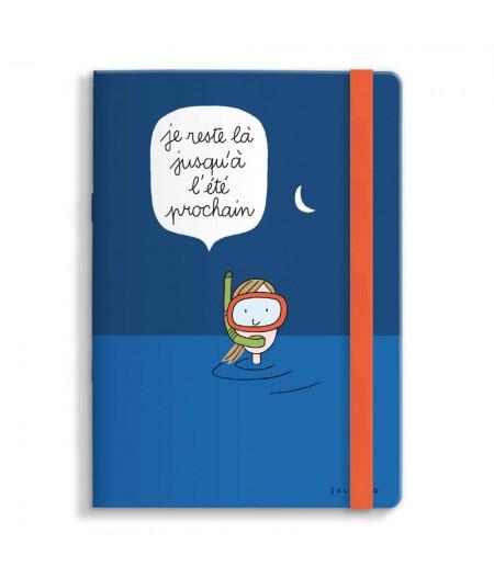 15x21 Cm Note Book Soledad Je reste là - Image Republic