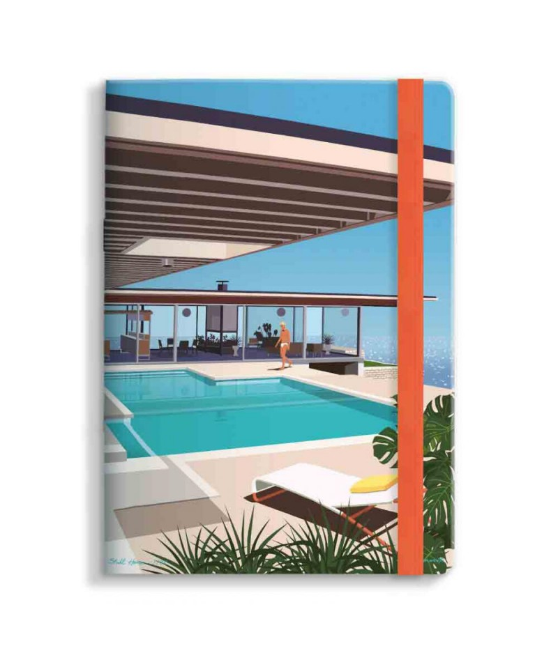 15x21 Cm Note Book Mariotti Stahl House - Image Republic