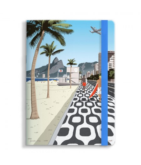 15x21 Cm Note Book Mariotti Ipanema - Image Republic