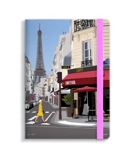 15x21 Cm Note Book Mariotti Paris - Image Republic