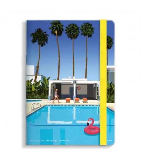 15x21 Cm Note Book Mariotti Palm Springs - Image Republic