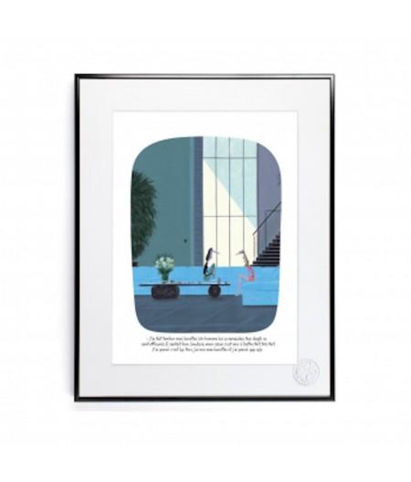 30x40 cm Voutch Lunettes - Affiche Image Republic