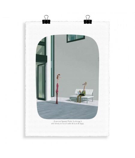 30x40 cm Voutch Youki - Affiche Image Republic