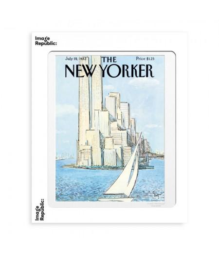 40x50 cm The New Yorker 01 Getz Voilier 46531 - Affiche Image Republic