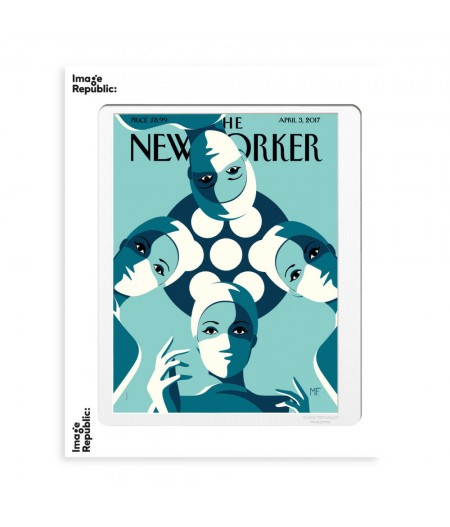 40x50 cm The New Yorker 162 Favre The Operating Theatre - Affiche Image Republic