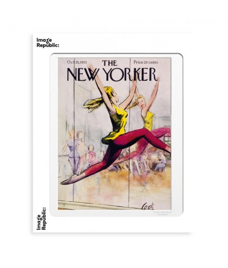 40x50 cm The New Yorker 154 Getz Ballet Class 49403 - Affiche Image Republic