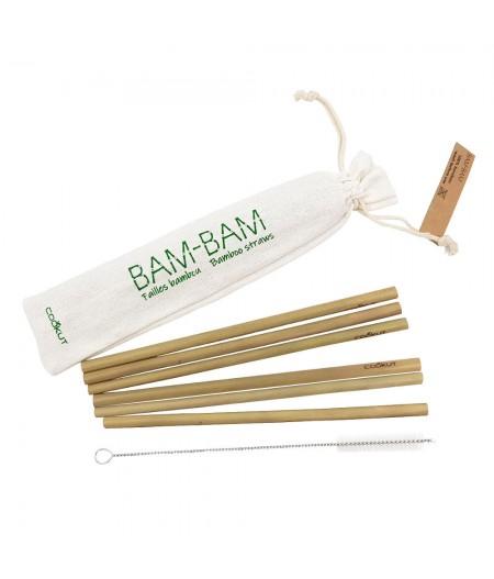 Sachets de 6 pailles bambou - Cookut
