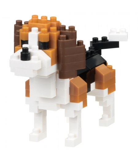 Nanoblock - Dog breed - Beagle
