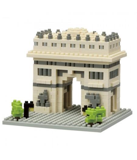 Nanoblock Arc de Triomphe Monument