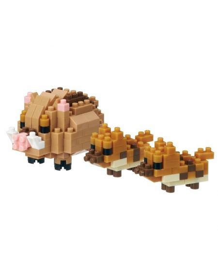 Nanoblock Boars Pig