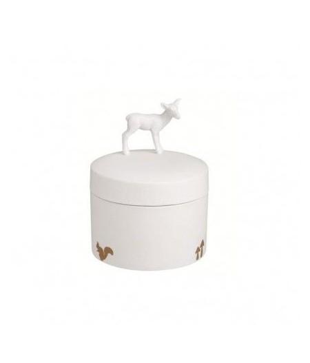Boite en porcelaine - Biche | Rader