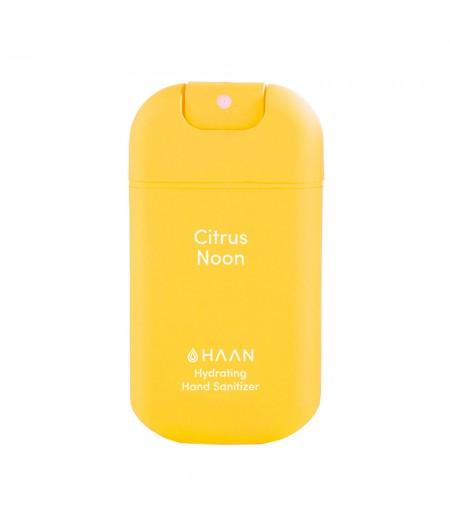 HAAN Citrus Noon - Spray désinfectant hydratant pour les mains à l'aloé vera