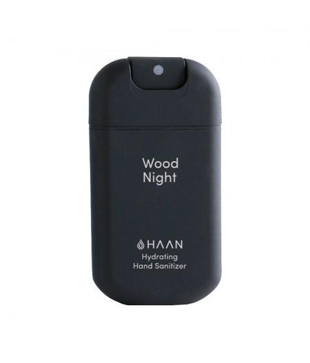 HAAN Wood Night - Spray désinfectant hydratant pour les mains à l'aloé vera