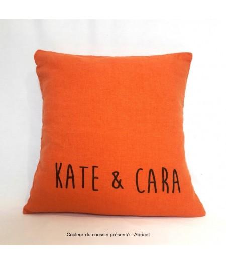 Kate et cara abricot