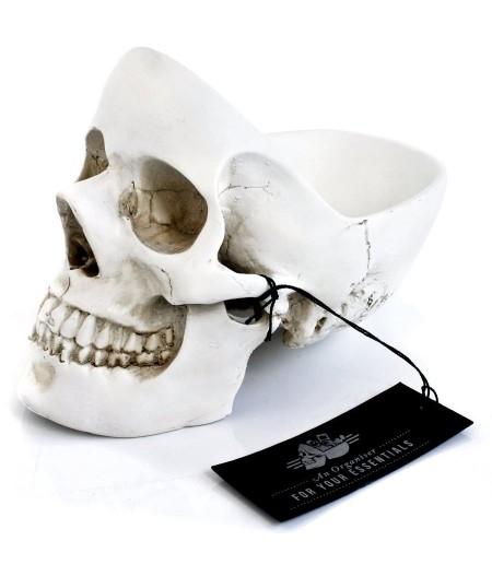 Vide-poche Tête de mort Blanc - Suck UK