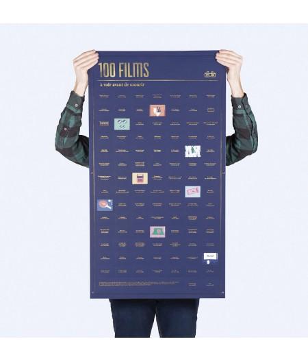 Poster 100 films à voir avant de mourir – DOIY
