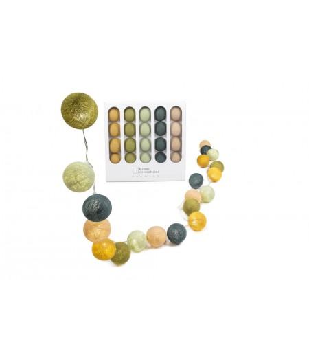 Coffret Premium Jeff - La Case de Cousin Paul - Guirlande lumineuse 20 boules LED