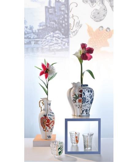 Vase en porcelaine Hybrid Melania | Seletti