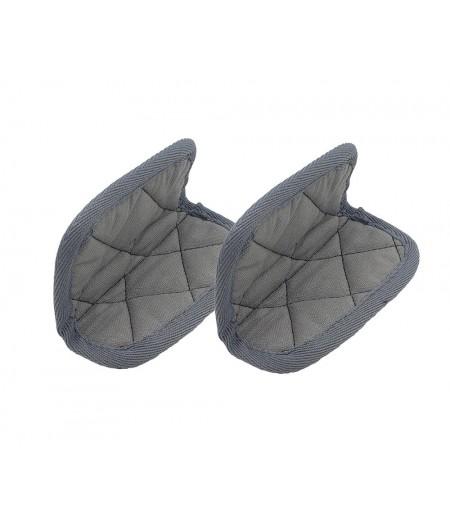Paire de maniques coton grises - Cookut