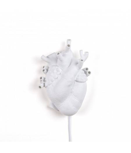 Applique Coeur Heart en porcelaine Seletti