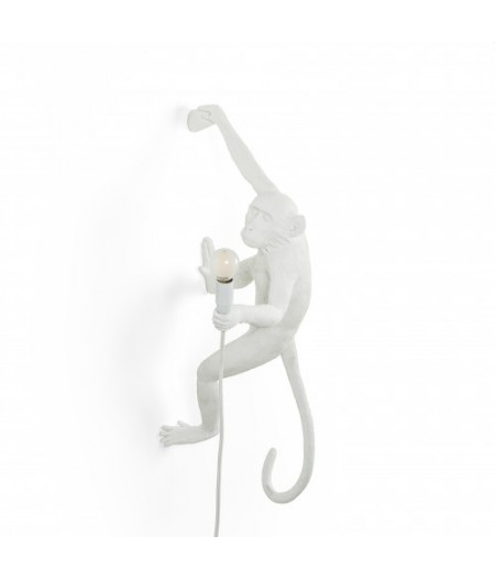 Applique Monkey Lamp Seletti - Blanc main droite