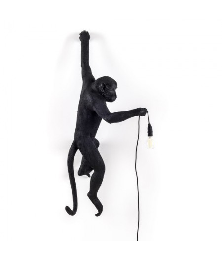 Applique Monkey Lamp Seletti OUTDOOR - noir main gauche