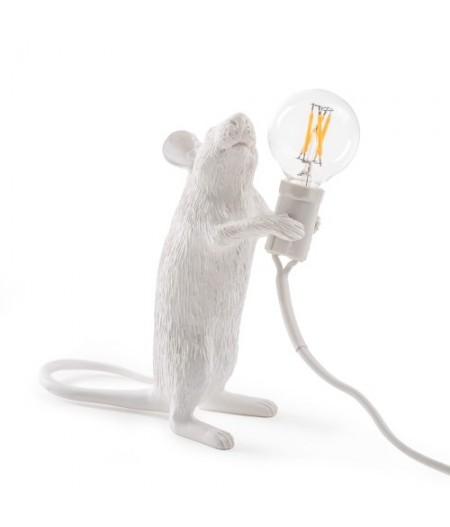 Lampe Souris Debout Seletti - Mouse Lampe #1 Step Standing