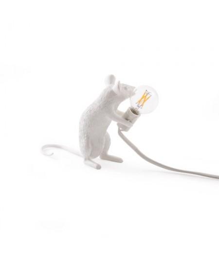 Lampe Souris Assise Seletti - Mouse Lamp 2 MAC Sitting