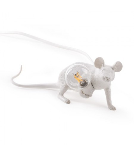 Lampe Souris Allongée Seletti - Mouse Lamp 3 LOP Lie Down