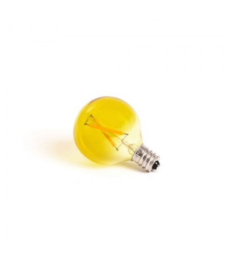 Ampoule jaune lampe souris Seletti - Mouse lamp Replacement bulb yellow