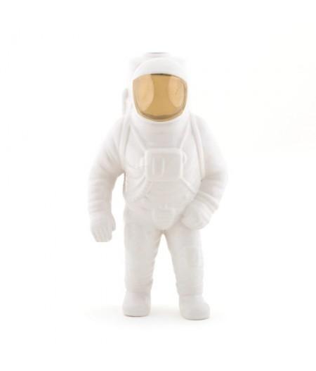 Starman White Cosmic Diner - Diesel Living with Seletti - Vase en porcelaine Astronaute