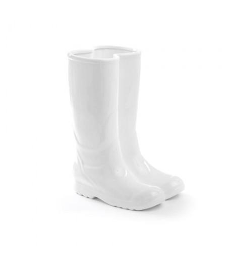 Rainboots Umbrella Stand Seletti - Porte parapluie Botte en porcelaine