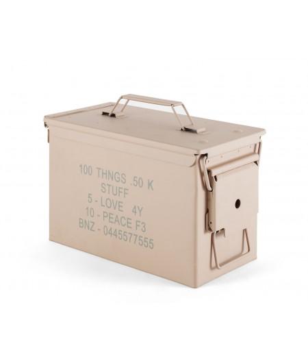 Peace Bullet - Collection Surplus Storage System by Diesel Living x Seletti - Boîte à cartouches en métal