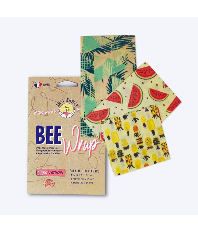 BeeWrap SML Original pack de 3 - Anotherway