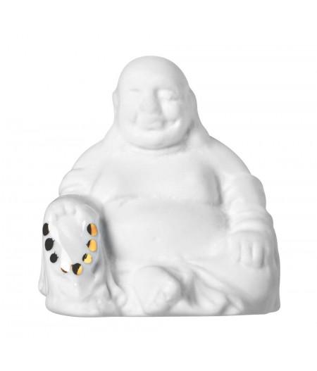 Lucky box Bouddha relax Ommmmm - Räder Porte bonheur en porcelaine