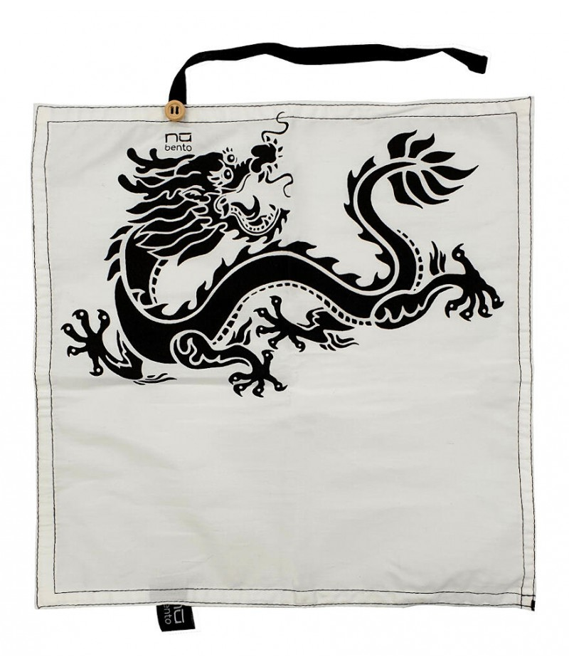 Serviette coton dragon - NUBENTO by Cookut
