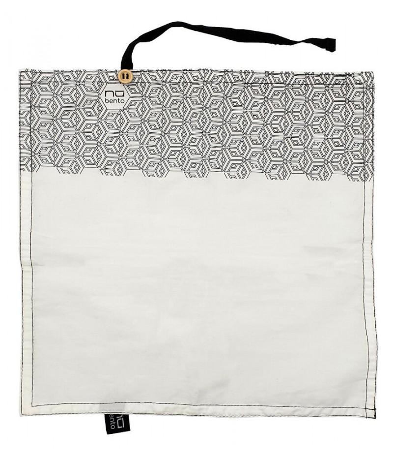Serviette coton forme géométrique - NUBENTO by Cookut