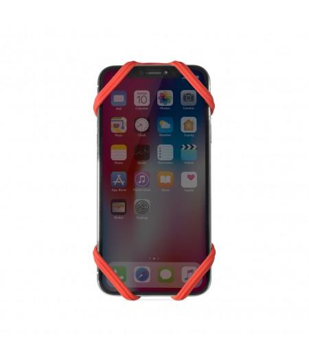 Bike Tie 2 Red - Bone Collection - Support téléphone pour vélo