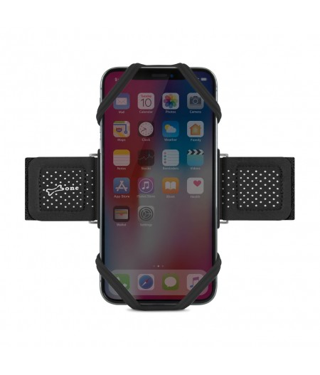 Run Tie S Black - Bone Collection - brassard téléphone pour jogger