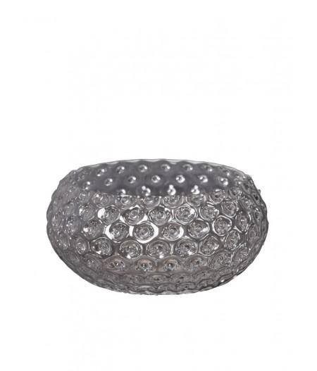 Saladier en verre pointe de diamant Chehoma