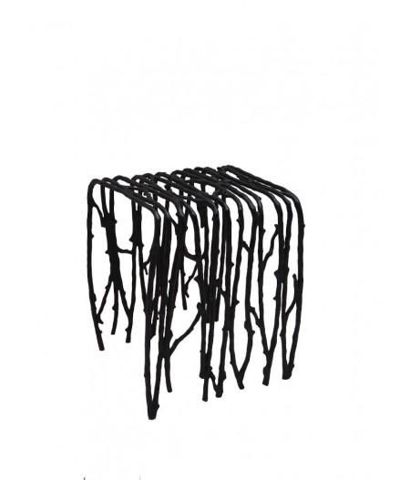 Tabouret extérieur Herbacée en alu - Chehoma