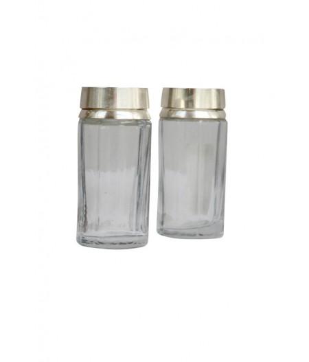 XD Sel & poivre métal & verre facettes - Chehoma
