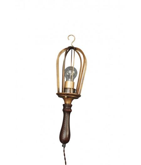 Lampe baladeuse poignée cuir  - Chehoma