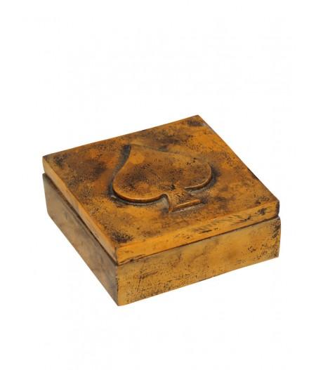 Boîte As 1 jeu de cartes et dés (cartes inclues) - Chehoma