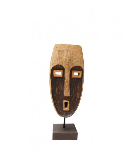 Masque bois sculpté Chant - Chehoma