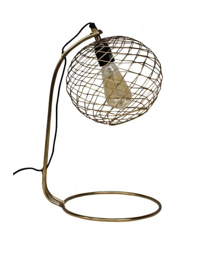 Lampe de bureau base arc rond -– Chehoma