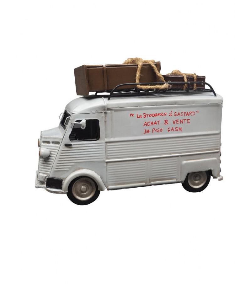 Camionnette en tôle 'Brocante' - Chehoma