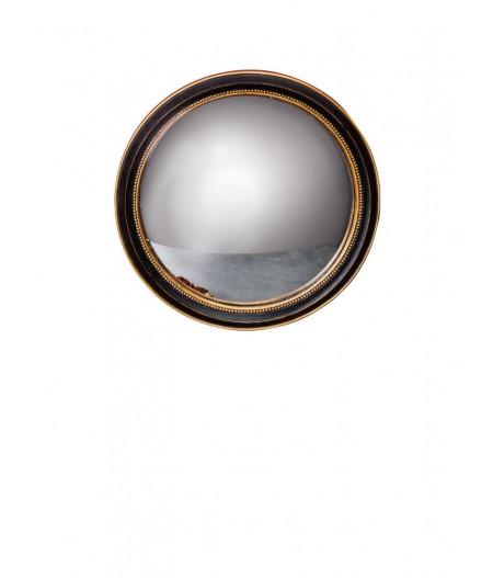 Miroir convexe 23cm bord or (22) - Chehoma